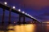 Kessock Bridge twilight (snowyturner) Tags: bridge beaulyfirth inverness longexposure clouds lights reflections 1855mm