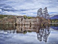 Loch an Eilein (FotoFling Scotland) Tags: aviemore loch lochaneilein scottishhighlands castle