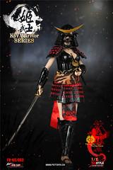 FIRE GIRL FG-KSJ002 Warring States of Japanese Warrior Armor Eadda Tokuhime - 01 (Lord Dragon 龍王爺) Tags: 16scale 12inscale onesixthscale actionfigure doll hot toys firegirl samurai