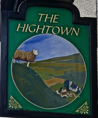 The Hightown - Hightown, Merseyside. (garstonian11) Tags: pubsigns pubs realale merseyside hightown