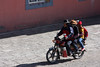 People in the streets of Tagong (sensaos) Tags: asia china tagong travel sensaos tibet 2014 kham region sichuan people motorcycle family lhagang