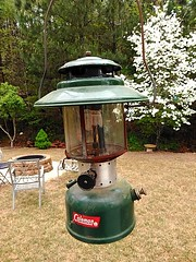 Vintage Coleman lantern (Dave* Seven One) Tags: coleman lantern colemanlantern 228f bighat coleman228f 1960s 1964 classic vintage camping campinggear campingequipment