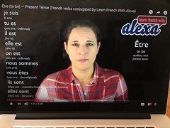 Learn French with Alexa-YouTube (Phototrain Photography) Tags: learnfrenchwithalexa learn étre avoir faire myfirstthreefrenchverbs spanish latin linguistics youtube english french