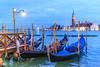 Venezia_0171_San_Giorgio (ivan.sgualdini) Tags: italy night seaitaliano campanile city cloudy dusk gondola italia light mood sangiorgio sea venezia venice veneto it