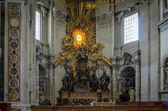 Cathedra Petri (Markus Wollny) Tags: city vatikan rom cittàdelvaticano vatikanstadt it