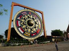 Thailand - Ubon Ratchathani - Big Gong (st3000) Tags: asia thailand siam seasia southeastasia isan northeast travel countryside lumix gm5 gong biggong big fun asean tourist temple
