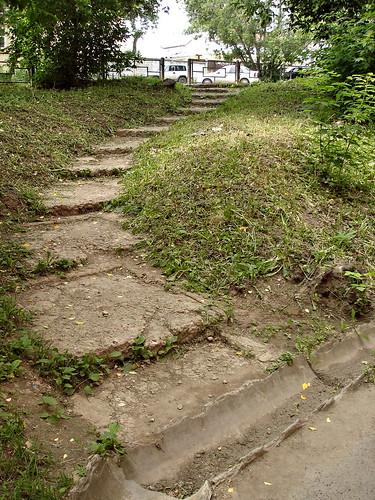 Старые ступени ©  ayampolsky