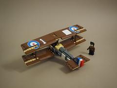 Sopwith F.1 Camel (Vaionaut) Tags: sopwith wwi ww1 royalairforce plane airplane biplane aircraft lego legocity legotown legovehicles vehicle toy toyphoto