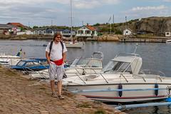 Marstrand/Sverige 2013 (karlheinz klingbeil) Tags: sverige boot meer marstrand water menschen motorboot nordsee schiff ship ocean porträt boat northsea schweden wasser people