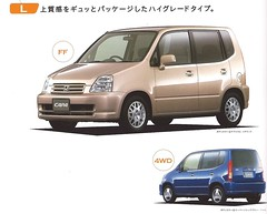 2000 Honda Capa (Hugo-90) Tags: honda car auto automobile vehicle jdm ads advertising brochure catalog capa 1500 2000