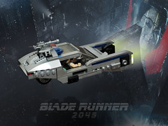 Blade Runner Police Spinner (Vaionaut) Tags: bladerunner harrisonford police futuristic speeder postapocalyptic scifi sciencefiction