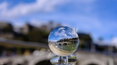 In My Crystal ball (YᗩSᗰIᘉᗴ HᗴᘉS +17 000 000 thx) Tags: hensyasmine namur belgium europa aaa namuroise look photo friends be wow yasminehens interest intersting eu fr greatphotographers lanamuroise crystal cristal creative crystalball bouledecristal