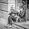 Juguem !!  - Let's play (Miquel Lleixà Mora [NotPRO]) Tags: lacalleesnuestra lacalleesnuestracolectivo street streetphotography lacalle carrer gent people persones blancoynegro blackandwhite igersmataro igersmaresme igerscatalunya life streetlife