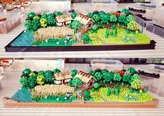 New frames on Rural Landscape (Emil Lidé) Tags: lego moc rural landscape frame