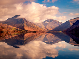 Wast Water - Light Shadows and Reflections