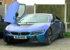 2016 BMW i8 (Stuart Axe) Tags: bayerischemotorenwerke german germany bmw bmwi8 hybrid hybridelectric car england uk unitedkingdom gb greatbritain