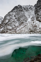 Floating Mountain (Keith - Glasgow) Tags: arctic wildphotographyholidays wph winter travel rocks lofoten shore mountains landscapes norway d850 ice nordland no