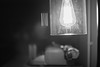 Another time another place (Rob₊Lee) Tags: thinking romantic romance idea thought nostalgia old noiretblanc lamp typewritter desk bulb filaments acros vintage 感情 emotion feeling sentiment
