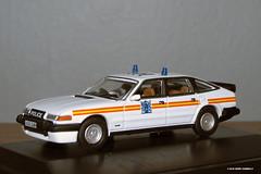 Rover SD1 3500 Vitesse - Metropolitan Police (UK) (Gerard Donnelly) Tags: police diecast rover uk oxford 176 metropolitan london londres