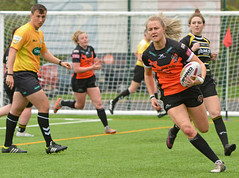 Under The Black Dot (Feversham Media) Tags: yorkcityknightsladiesrlfc castlefordtigerswomenrlfc yorkstjohnuniversity amateurrugbyleague rugbyleague york northyorkshire yorkshire sportsaction womenssuperleague tarastanley