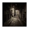 Dark Corner (www.charlottegilliatt.com) Tags: night dark moody atmosphere scary film isolette agfa ilforddelta alleyway london