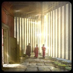 Three Monks (RJ.Take2) Tags: boys monks lightworker lightweaver friends happy spiritual higherconsciousness highervibration indigo starseed freespirit namaste fineartphoto squareformat best translucent sacred people fun playful young digitalart photoart layered composite grunge squareart gallery collection artineed love life happiness cedarpark texas usa