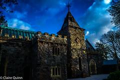 castles and mountains-27 (Claire Quinn) Tags: saintconanskirk church kirk