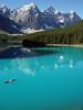 🌍 Moraine Lake, Banff National Park, Canada |  Pascal (travelingpage) Tags: travel traveling traveler destinations journey trip vacation places explore explorer adventure adventurer