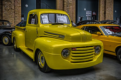 1948 FORD F1 PICK UP (Peter's HDR-Studio) Tags: petershdrstudio hdr classiccar ford pickuptruck pickup truck oldtimer vintage lkw klassiker yellow