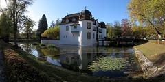 Leimental_14 (Thomas Jundt + CV) Tags: baselland bottmingen leimental panorama schloss schweiz weiherschloss
