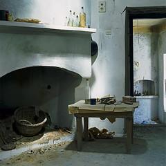 Ghosts. Kritsa, Crete (Κριτσά, Κρήτη) (Terrorkitten) Tags: kritsa170814cretefuji160c010 κρήτη κριτσά λασίθι kritsa crete greece hasselblad501cm planar derelict abandoned cretanghosts lasithi philbebbington terrorkitten film mediumformat 6x6 120 fuji