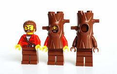 Dissimulation step by step (Vanjey_Lego) Tags: lego minifig minifigs minifigure minifigures tree dissimulation step by