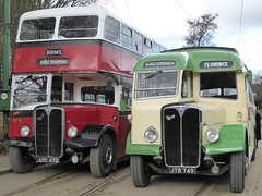 AEC Antiques (Terry Pinnegar Photography) Tags: beamish museum countydurham bus vintage aec regent utc672 regal jtb749 cumbriaclassiccoaches