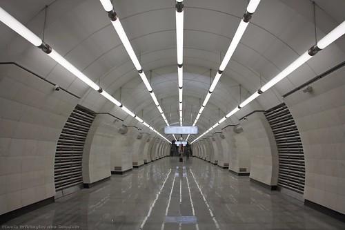 Москва. Станция метро