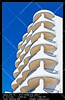 Balconies (__Viledevil__) Tags: balcony apartment architecture blue building clear day design detail element europe exterior facade home hotel house nobody outdoors perspective railing sky stone style sunny terrace tourism tranquil urban white