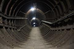 Ventilation Tunnel (steve_whitmarsh) Tags: london euston tunnel abandoned derelict station tube underground eustonstation subway