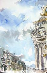 Paris, Opéra Garnier (velt.mathieu) Tags: paris opéra sketch mathieuvelt