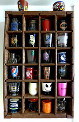 26 Shots (KSec) Tags: shot shots shotglasses glass glasses display crate cocacola coke cola