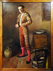 1964 pintura Orteguita Torero se viste de Luces de Cesar Muñoz Sola Museo de Navarra Pamplona (Rafael Gomez - http://micamara.es) Tags: 1964 pintura orteguita torero se viste de luces cesar muñoz sola museo navarra pamplona