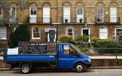 A Load of Rubbish (cybertect) Tags: carlzeissvariosonnart2885mmf334 islington liverpoolroad londonboroughofislington londonn1 n1 sonya7ii truck van fordtransit 90t350