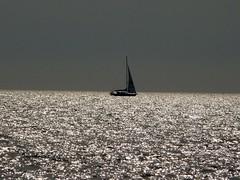 "Sailing ...  ""negative space"" (libra1054) Tags: sailing segeln mer meer mare mar sea negativespace crazytuesdaytheme 7dwf balticsea outdoor"