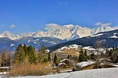 Massif du Mont Blanc (mg photographe) Tags: megève montblanc explore snow neige montagne mountain france alpes chamonix combloux paysage landscape