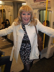Letting The Train Take The Strain (rachel cole 121) Tags: tv transvestite transgendered tgirl crossdresser cd