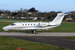 OY-EDP Cessna 650 Citation III on 11 April 2018 Jersey (Jersey Aviation Images 2018) Tags: airplane aircraft aeroplanes aeroplane aircraftspotters aviation planes flyingmachines