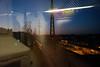 LIRR reflected (grapfapan) Tags: dusk reflection lirr subway newyorkcity queens usa travel