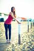 from the boardwalk (habaneros) Tags: model girl beach elena beaty power