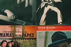 Vinyl Lovin' (elizabeth campbell :)) Tags: musica legends themamasandthepapas billiejoel elvispresley franksinatra musicalbums music photographer photography canonphotography canonrebelt6