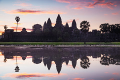 Angkor Wat Sunrise, Siem Reap Cambodia (Patrick Foto ;)) Tags: 2017 ancient angkor architecture asia asian buddha buddhism buddhist building cambodia cambodian culture heritage hindu hinduism historic indochina khmer lake landmark monument morning old reap reflection religion religious rock ruin siem silhouette site sky stone sun sunrise sunset temple tomb tourism tower travel tree tropical unesco wat water world worship krongsiemreap siemreapprovince kh