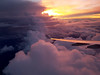 Sunset on the heights (MFMarcelo) Tags: sunset cloud sky airplane airbus a330 wing light