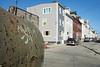 Goettmann Street (Matt Niemi) Tags: troyhill pittsburgh streetphotography blue sky rust rusty graffiti street